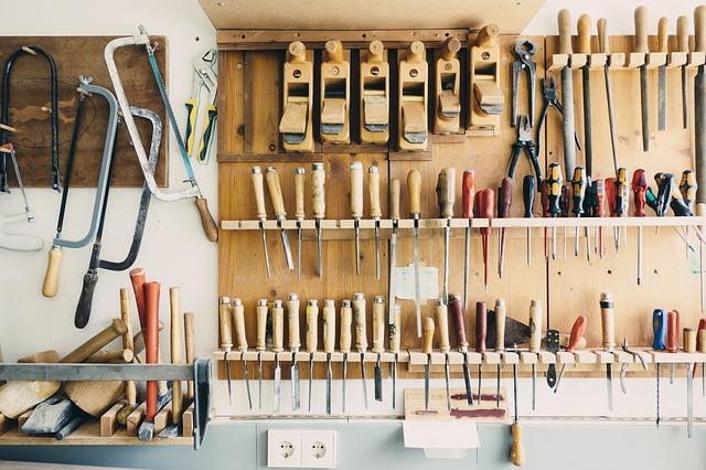 初心者向けのやさしく工具をメンテナンスする方法