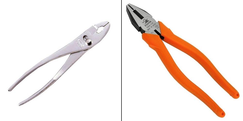 プライヤーとペンチの違いを知っていますか?